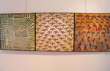 Leang Sokon's three canvas series