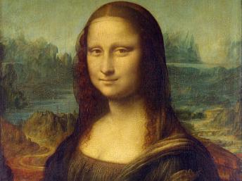 រូបគំនូរ Monalisa គូរដោយ Léonard de Vinci (ឬ Leonardo da Vinci)