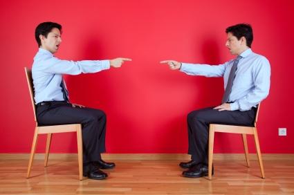 2 men conflict